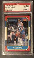 Reggie Theus 1986 Fleer #108 PSA 10 NBA/Kings
