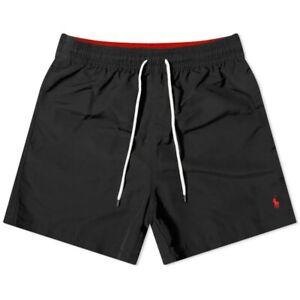 Polo Ralph Lauren Classics Men's Black Raveller Swim Short, Brand Size XX-Large