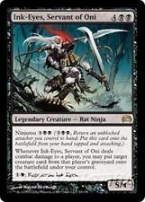 INK-EYES, SERVANT OF ONI Planechase 2012 MTG Black Creature — Rat Ninja RARE