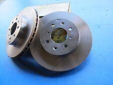 2 Disques de freins avant ventilés Lucas pour Honda Concerto, Rover 200, 400