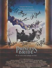 The Princess Bride (1987) Cary Elwes Mandy Patinkin CAST (9) SIGNED RP 8x10 WOW!