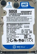 Western Digital WD5000BPVT-55HXZT4 500GB DCM: SAOT2AN