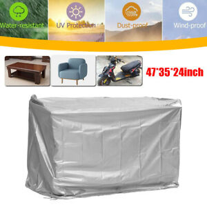 120cm Mobility Scooter Storage Garage Shelter Rain Cover UV Protector Waterproof