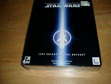 PC Box Star wars Jedi knight 2 Jedi outcast sealed polish