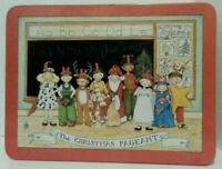 Vintage Mary Engelbreit 1986 The Christmas Pageant Cookie tin