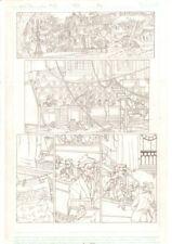 Re-Animator #0 p.2 - Old School Medical Class - 2005 Signed art by Nick Bradshaw Comic Art