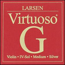 Larsen Virtuoso Violin G String Medium Tension 4/4 Full Size