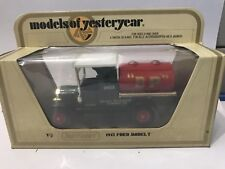MATCHBOX YESTERYEAR Y-3 1912 FORD T TANKER B.P.