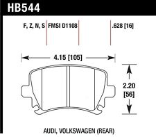 HPS Performance Street fits 2000-2009 Volkswagen Golf Jetta Passat  HAWK PERFORM