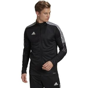 Adidas Men's Tiro 21 Track Suit Jacket & Pants Combo Sweatpants and Jacket Coat