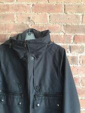 wings+horns Men's Water Resistant Jacket Hoodie Sz Small Black, Canada