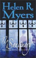 No Sanctuary Romantic Suspen Mass Market Myers, Helen R.