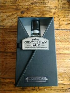 Gentleman Jack Unique Empty Bottle In Hard Case Box