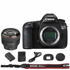 Canon EOS 5DSR / 5DS R DSLR Camera Body with EF 85mm f/1.2L II USM Lens