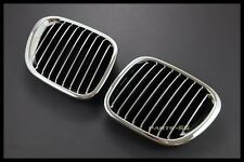 CHROME GRILLES GRILL FOR 1996-2002 BMW Z3 3.0I M COUPE CONVERTIBLE