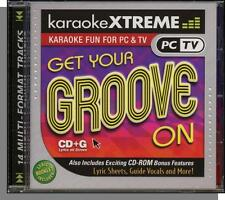 Karaoke CD+G - Get Your Groove On - New 14 Song Disco Hits CD! Hot Stuff!