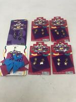 Vintage 90s NOS Disney Mickey Mouse Jewelry Earrings Rare