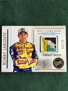 2007 Press Pass Premium Bobby Labonte firesuit patch 4 color 3/10
