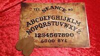 Bizarre Magic London Thames Ouija Board laminated sheet  & dark wood planchette