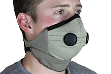 Adjustable Rider Dust Mask Nose Mouth Protector (Tan/Black, Universal), New