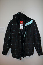 Foursquare PJ Jacket Black Logo Grid (Size - Medium)