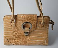 Damen Handtasche Kroko Design ca. 28 x 19 cm