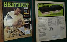 HEATHKIT Catalog 1975 - Electronics Mail Order Factory Projects Prices -FreeShip