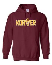 """SALE HOODED SWEATSHIRT Kyle Korver Cleveland Cavaliers """"Korver Logo"""" MEDIUM"""
