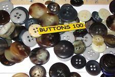 100 variados Costura & botones artesanales EU Botón Company alta calidad varios