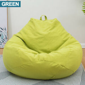 Chair Sofa Bean Bag Cover Couch Indoor Outdoor Lazy Lounger Large For Kids Adult