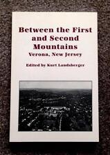 RARE 1ST ED. HISTORY OF VERONA NEW JERSEY NJ VINTAGE PHOTOGRAPHS FREE SHIPPING