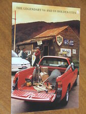 1993 Holden VR Ute including S original Australian 12 page brochure