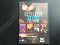 DRUM  DVD  PREVIEW  , DVD  BUDDY RICH, STEVE GADD,  BOB  GATZEN.....BLUES , JAZZ