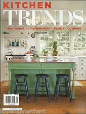 Kitchen Trends magazine Traditional Contemporary Family Outdoors Remodel Finish