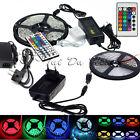5M SMD 3528 5050 5630 3014 300LEDs RGB White LED Strip Light 12V Power Supply