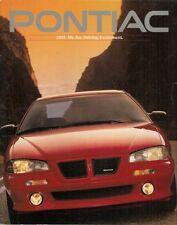 Pontiac 1993 marché canadien brochure sunbird bonneville grand prix grand am