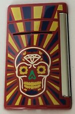 S.T. Dupont MiniJet Torch Lighter, Red Day Of The Dead, # 10086, New In Box