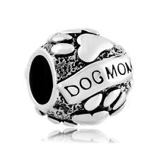 Dog Mom Silver Charm Pandora Bracelet Charms Bracelets Mothers