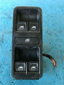 OEM 2015 VOLKSWAGEN POLO 6R, 14-17, RIGHT FRONT POWER WINDOW MASTER SWITCH
