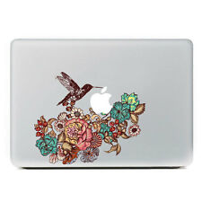 "Hummingbird Flowers Macbook Vinyl Sticker Decal Macbook Air/Pro/Retina 13""15""17"""