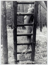 PRETTY NUDE IN THE WOODS DDR NACKTE IM WALD FKK * Vintage 60s Photo V BERNDT #5