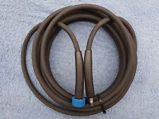 QWASHERS YOUTUBE EBAY CLICK AND CONNECT NILFISK ALTO RUBBER HOSE 1 WIRE 10 METER