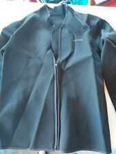 CtriLady Men's Neoprene Wetsuit Jacket with Front Zipper and Long Sleeves XXL
