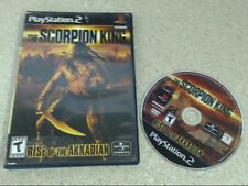 THE SCORPION KING RISE OF THE AKKADIAN - PS2 GAME (6875-12)