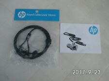 HP Keyed Cable Lock 10 mm Round key Kabelschloss