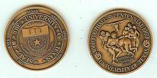 U OF TEXAS 100 YR NATIONAL CHAMPIONSHIP MEDAL  1969