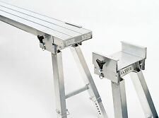 Aluminium Flexi Stool Slide On Plank Trestle Legs ULTIMATE-ULTRA HIGH 775-1100mm