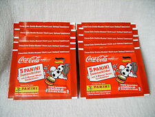 Euro / EM 2012 Panini - Coca Cola: 10 volle Promo-Tüten Manuel Neuer, top !!!