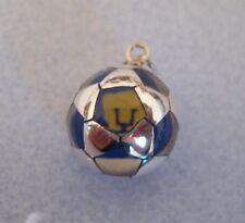 Mexican 925 Silver Soccer Club Team PUMAS Ball Charm Pendant Unisex Taxco Mexico