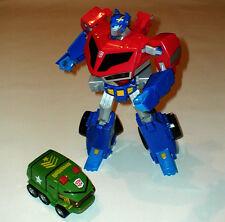 "Transformers 10 ""Optimus Prime Leader hablando Figura + Bono De Mamparo"